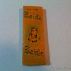 Papel de fumar: PAPEL DE FUMAR . ZAIDA. Lote 182842563
