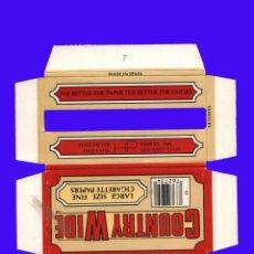Papel de fumar: ESTUCHE ANTIGUO PAPEL DE FUMAR - COUNTRY WIDE - LARGE SIZE FINE CIGARETTE PAPERS. Lote 40539461