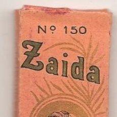 Papel de fumar: LIBRILLO DE PAPEL DE FUMAR ZAIDA. Lote 41462891