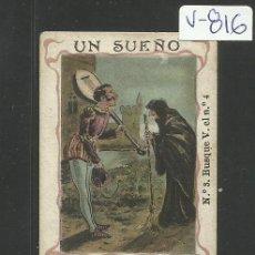 Cartina per sigarette: CROMO PAPEL DE FUMAR HIDALGUIA - LE CHIC PARISIEN- VER REVERSO- C. HIDALGO BARCELONA - (V-816). Lote 43842722