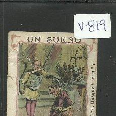 Cartina per sigarette: CROMO PAPEL DE FUMAR HIDALGUIA - LE CHIC PARISIEN- VER REVERSO- C. HIDALGO BARCELONA - (V-819). Lote 43842752