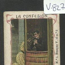 Cartina per sigarette: CROMO PAPEL DE FUMAR HIDALGUIA - LE CHIC PARISIEN- VER REVERSO- C. HIDALGO BARCELONA - (V-827). Lote 43842813