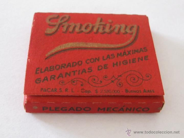 LIBRILLO DE PAPEL DE FUMAR SMOKING ARGENTINO 75 HOJAS. (Coleccionismo - Objetos para Fumar - Papel de fumar )