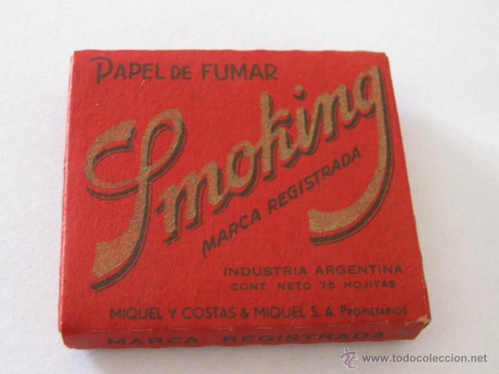 Papel de fumar: Librillo de papel de fumar Smoking Argentino 75 Hojas. - Foto 2 - 43849487