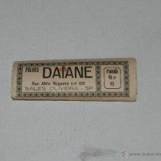 Papel de fumar: PAPEL DE FUMAR PALHAS DAIANE , COMPLETO !!!. Lote 44042338