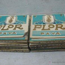 Papel de fumar: PAYA FLOR - LOTE DE 8 PAPELES DE FUMAR VALENCIA. Lote 45091320