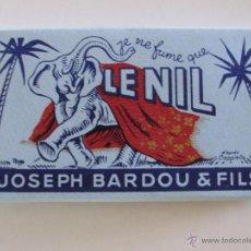 Papel de fumar: PAPEL DE FUMAR LE NIL . FRANCIA JOSEPH BORDIU. Lote 219452741