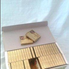 Papel de fumar: ANTIGUA CAJA PAPEL DE FUMAR TABACO MARFIL ALCOY ARROZ SUPERIOR HILO AÑOS 30 ENGOMADO 49 LIBRILLOS. Lote 45571723