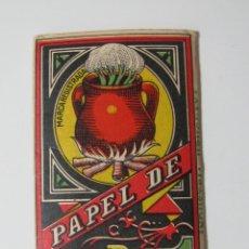 Papel de fumar: PAPEL DE FUMAR DE JARAMAGO. Lote 110842711
