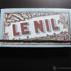 Papel de fumar: PAPEL DE FUMAR LE NIL // FRANCIA // TAPA DURA DE LUJO. Lote 46644235