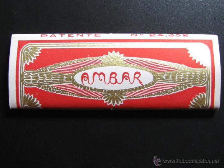 PAPEL DE FUMAR AMBAR JOSE LAPORTA ALCOY (Coleccionismo - Objetos para Fumar - Papel de fumar )
