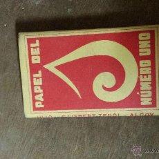 Papel de fumar: PAPEL DE FUMAR N 1. Lote 46980554