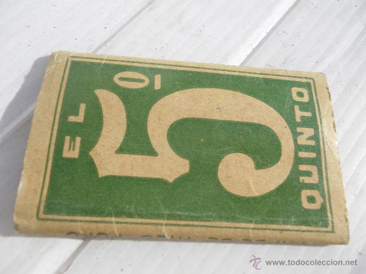 ANTIGUO LIBRILLO DE PAPEL DE FUMAR (Coleccionismo - Objetos para Fumar - Papel de fumar )