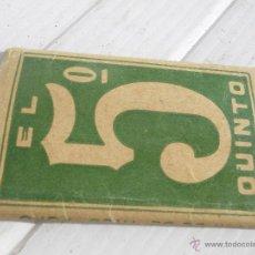 Papel de fumar: ANTIGUO LIBRILLO DE PAPEL DE FUMAR . Lote 47455446