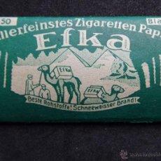 Papel de fumar: ANTIGUO PAPEL DE FUMAR - EFKA- ALEMAN 2GM ORIGINAL WW2 WWII. Lote 109592934