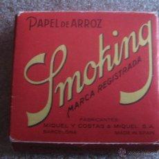 Papel de fumar: SMOKING MIQUEL Y COSTAS & MIQUEL, SA - PAPEL DE FUMAR. Lote 48463587