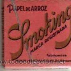 Papel de fumar: ANTIGUO PAPEL DE FUMAR SMOKING. Lote 48747748