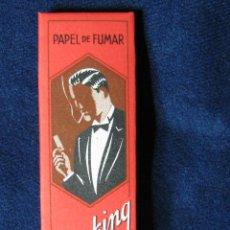 Papel de fumar: PAPEL DE FUMAR SMOKING 75 HOJAS. Lote 48759945