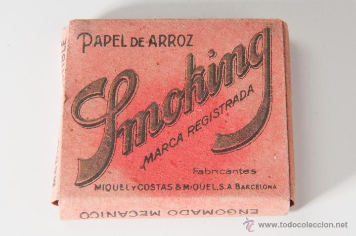 PAPEL DE FUMAR SMOKING (Coleccionismo - Objetos para Fumar - Papel de fumar )
