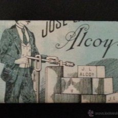 Papel de fumar: PAPEL DE FUMAR LA BÁSCULA .JOSÉ LAPORTA.ALCOY. Lote 51937354