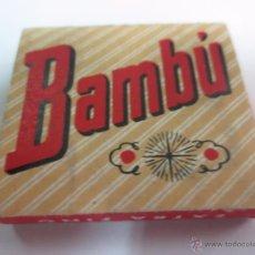 Papel de fumar: PAPEL DE FUMAR BAMBÚ EDIT ALCOY. Lote 52881337