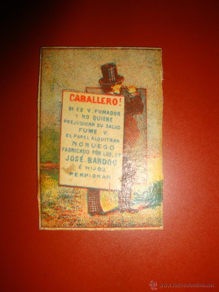 ALQUITRAN NORUEGO (Coleccionismo - Objetos para Fumar - Papel de fumar )