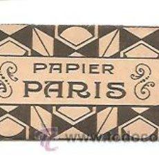 Papel de fumar: PAPEL DE FUMAR PAPIER PARIS - LEOPOLDO FERRÁNDIZ - ALCOY. Lote 53552992