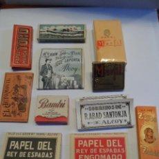 Papel de fumar: PAPEL DE FUMAR TABACO COLECCION DE LA FOTO. Lote 53732658