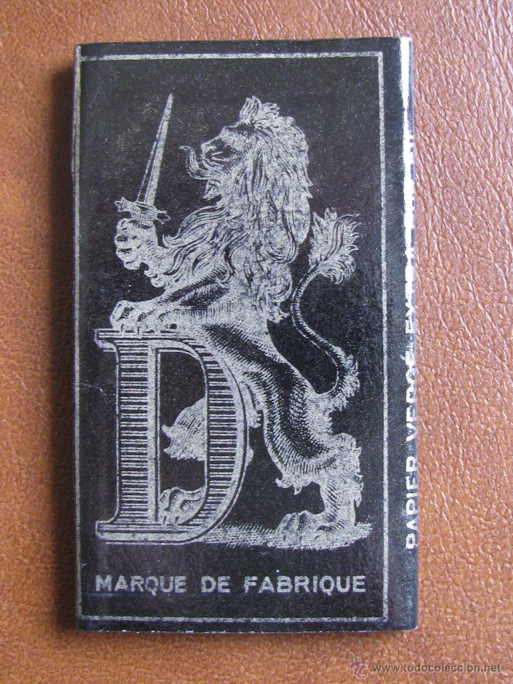LIBRILLO DE PAPEL DE FUMAR DUC 70 GRAMOS 100 HOJAS. AÑO 1900,S (Coleccionismo - Objetos para Fumar - Papel de fumar )