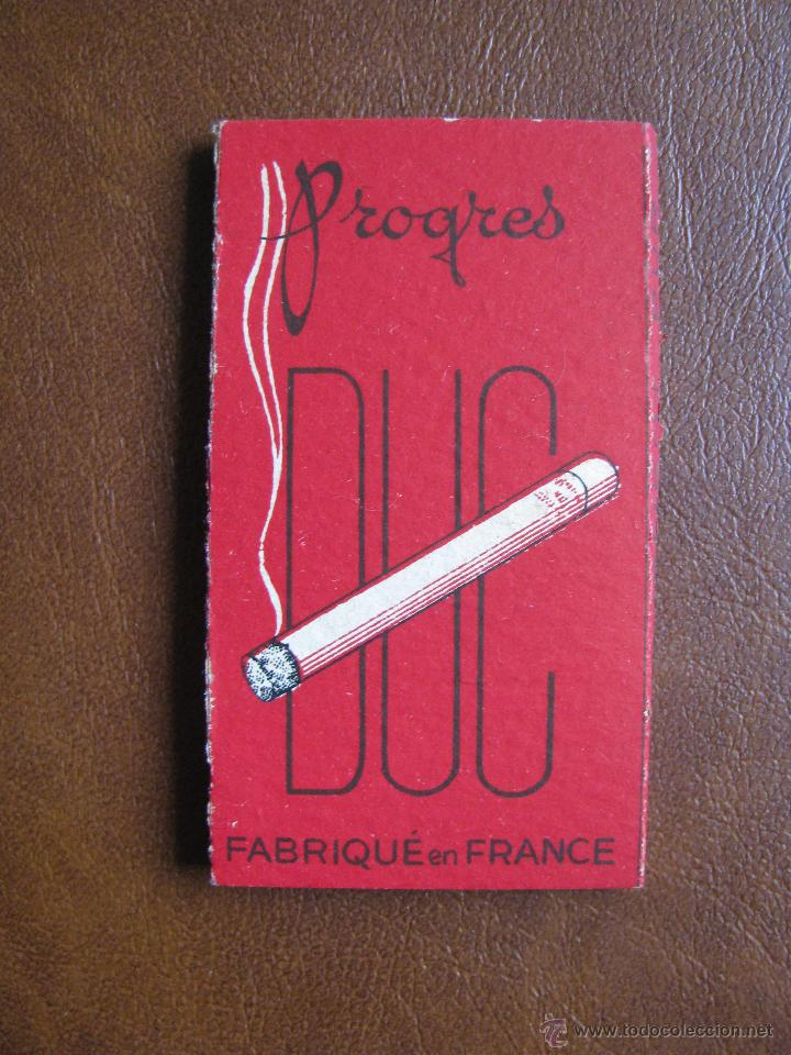 LIBRILLO DE PAPEL DE FUMAR PROGRES DUC 100 HOJAS FRANCIA, PRINCIPIOS DE SIGLO XX (Coleccionismo - Objetos para Fumar - Papel de fumar )