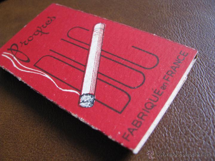 Papel de fumar: Librillo de papel de fumar Progres Duc 100 hojas Francia, principios de siglo XX - Foto 3 - 58064796