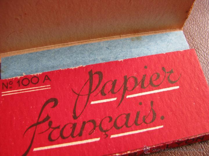 Papel de fumar: Librillo de papel de fumar Progres Duc 100 hojas Francia, principios de siglo XX - Foto 4 - 58064796