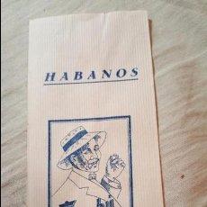 Papel de fumar: ANTIGUO SOBRE O BOLSA DE PAPEL DE FUMAR BAMBU, HABANOS, COMO NUEVA. Lote 54068299