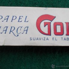 Papel de fumar: PAPEL DE FUMAR GOL. Lote 54507135