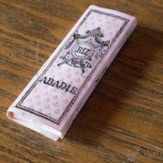 Papel de fumar: PAPEL DE FUMAR - RIZ ABADIE Nº 196. Lote 54683949