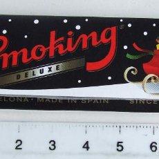 Papel para cigarros: PAPEL DE FUMAR SMOKING DELUXE ESPECIAL SERIE NAVIDAD. Lote 57037109