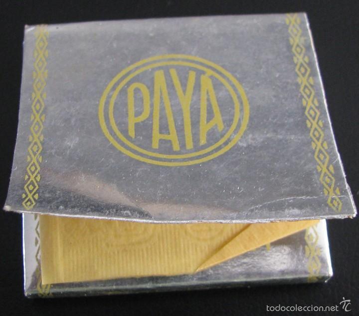 PAPEL DE FUMAR PAYA GRAN LUJO , ALCOY ESCASO. (Coleccionismo - Objetos para Fumar - Papel de fumar )