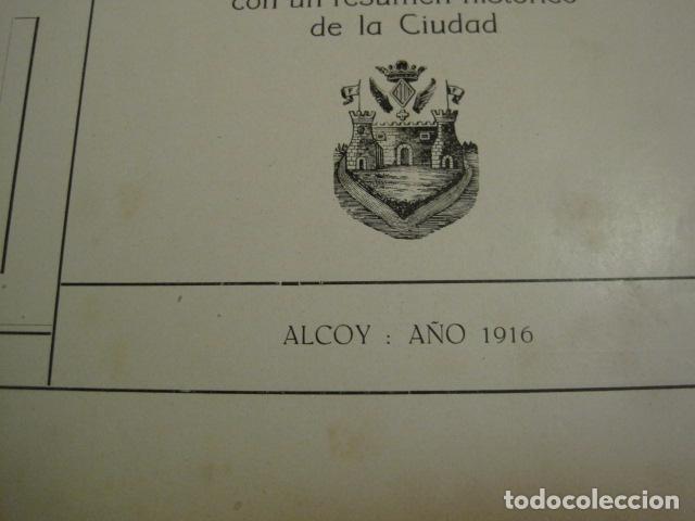 Papel de fumar: ALCOY - ARTISTICO E INDUSTRIAL -ALBUM FOTOS 1916 -MUCHA PUBLICIDAD-PAPEL FUMAR.- VER FOTOS -(V-6731) - Foto 4 - 63186484