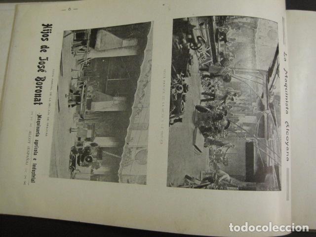 Papel de fumar: ALCOY - ARTISTICO E INDUSTRIAL -ALBUM FOTOS 1916 -MUCHA PUBLICIDAD-PAPEL FUMAR.- VER FOTOS -(V-6731) - Foto 7 - 63186484