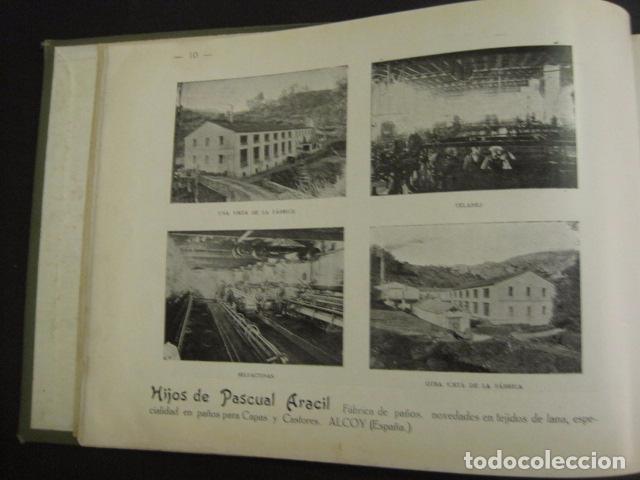 Papel de fumar: ALCOY - ARTISTICO E INDUSTRIAL -ALBUM FOTOS 1916 -MUCHA PUBLICIDAD-PAPEL FUMAR.- VER FOTOS -(V-6731) - Foto 11 - 63186484