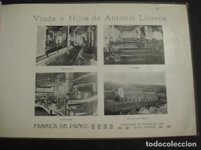 Papel de fumar: ALCOY - ARTISTICO E INDUSTRIAL -ALBUM FOTOS 1916 -MUCHA PUBLICIDAD-PAPEL FUMAR.- VER FOTOS -(V-6731) - Foto 18 - 63186484