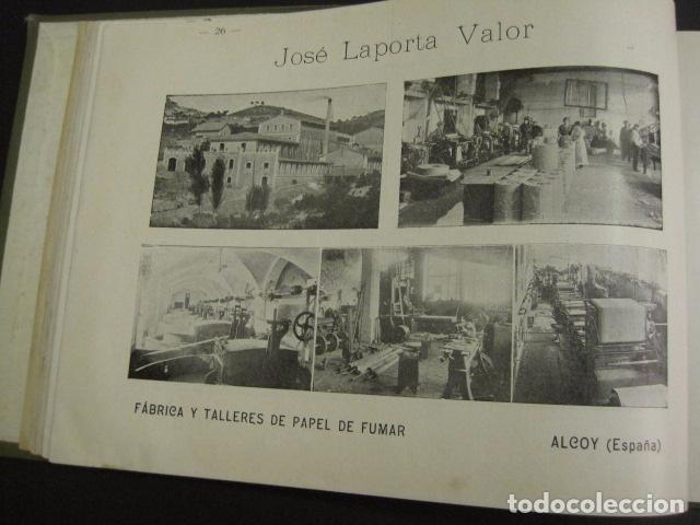 Papel de fumar: ALCOY - ARTISTICO E INDUSTRIAL -ALBUM FOTOS 1916 -MUCHA PUBLICIDAD-PAPEL FUMAR.- VER FOTOS -(V-6731) - Foto 27 - 63186484