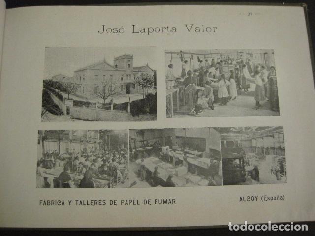Papel de fumar: ALCOY - ARTISTICO E INDUSTRIAL -ALBUM FOTOS 1916 -MUCHA PUBLICIDAD-PAPEL FUMAR.- VER FOTOS -(V-6731) - Foto 28 - 63186484