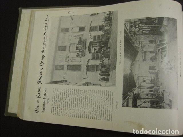 Papel de fumar: ALCOY - ARTISTICO E INDUSTRIAL -ALBUM FOTOS 1916 -MUCHA PUBLICIDAD-PAPEL FUMAR.- VER FOTOS -(V-6731) - Foto 31 - 63186484