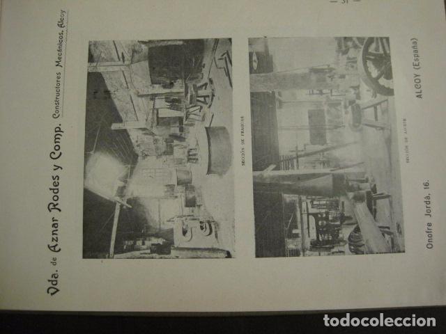 Papel de fumar: ALCOY - ARTISTICO E INDUSTRIAL -ALBUM FOTOS 1916 -MUCHA PUBLICIDAD-PAPEL FUMAR.- VER FOTOS -(V-6731) - Foto 32 - 63186484