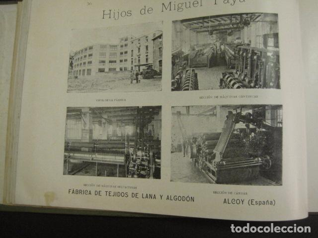 Papel de fumar: ALCOY - ARTISTICO E INDUSTRIAL -ALBUM FOTOS 1916 -MUCHA PUBLICIDAD-PAPEL FUMAR.- VER FOTOS -(V-6731) - Foto 37 - 63186484