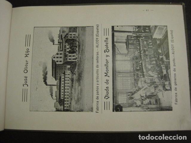 Papel de fumar: ALCOY - ARTISTICO E INDUSTRIAL -ALBUM FOTOS 1916 -MUCHA PUBLICIDAD-PAPEL FUMAR.- VER FOTOS -(V-6731) - Foto 42 - 63186484