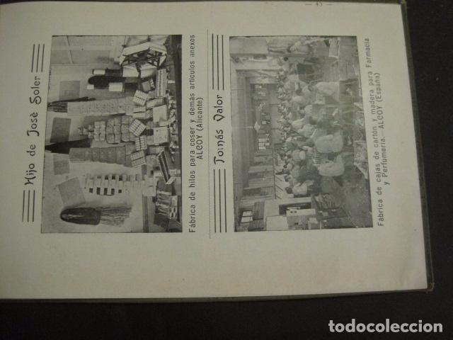 Papel de fumar: ALCOY - ARTISTICO E INDUSTRIAL -ALBUM FOTOS 1916 -MUCHA PUBLICIDAD-PAPEL FUMAR.- VER FOTOS -(V-6731) - Foto 44 - 63186484