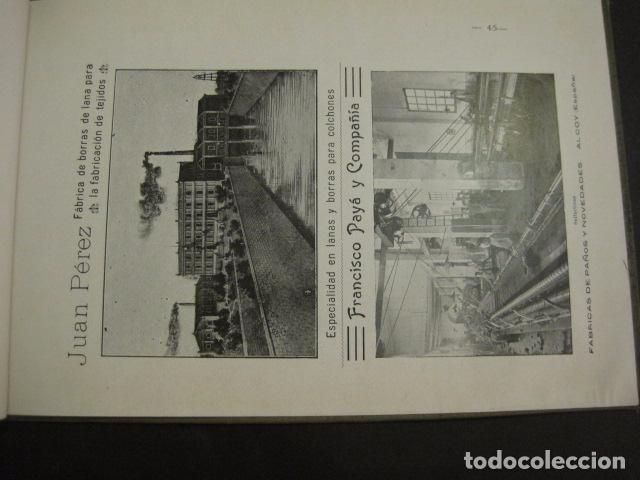 Papel de fumar: ALCOY - ARTISTICO E INDUSTRIAL -ALBUM FOTOS 1916 -MUCHA PUBLICIDAD-PAPEL FUMAR.- VER FOTOS -(V-6731) - Foto 46 - 63186484