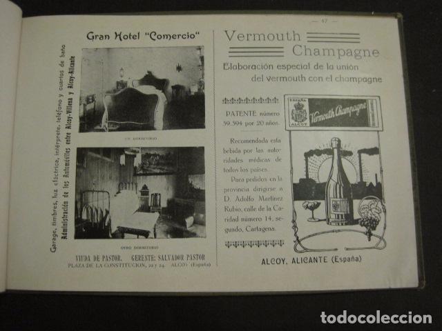 Papel de fumar: ALCOY - ARTISTICO E INDUSTRIAL -ALBUM FOTOS 1916 -MUCHA PUBLICIDAD-PAPEL FUMAR.- VER FOTOS -(V-6731) - Foto 48 - 63186484